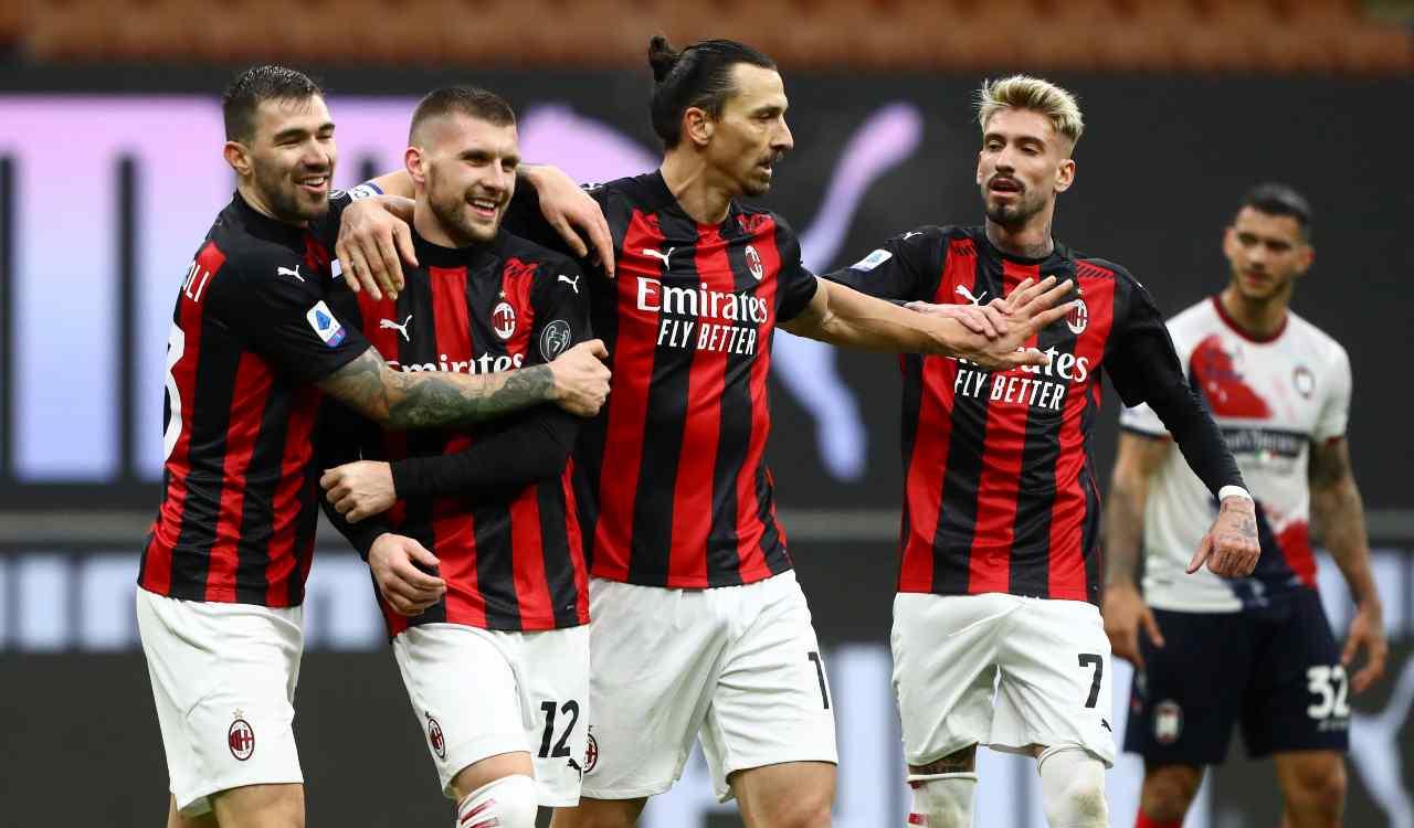 Milan infortunio Rebic
