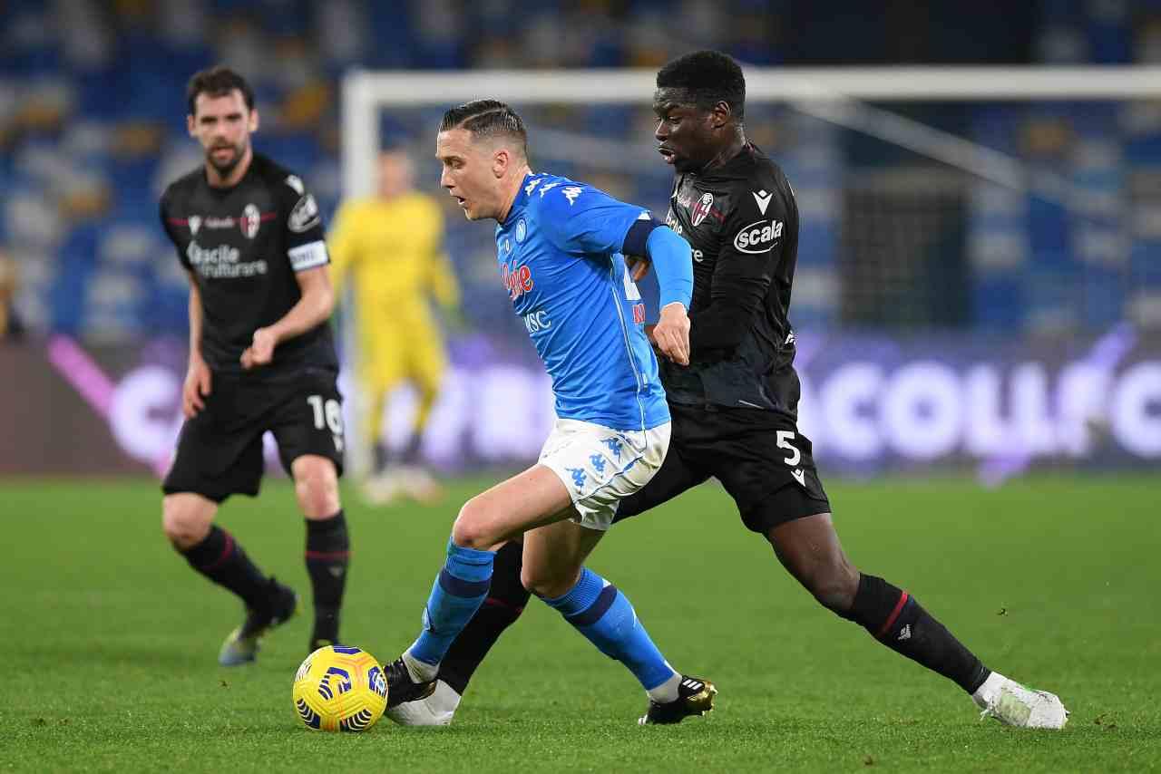 Serie A, highlights Napoli-Bologna: gol e sintesi partita - Video