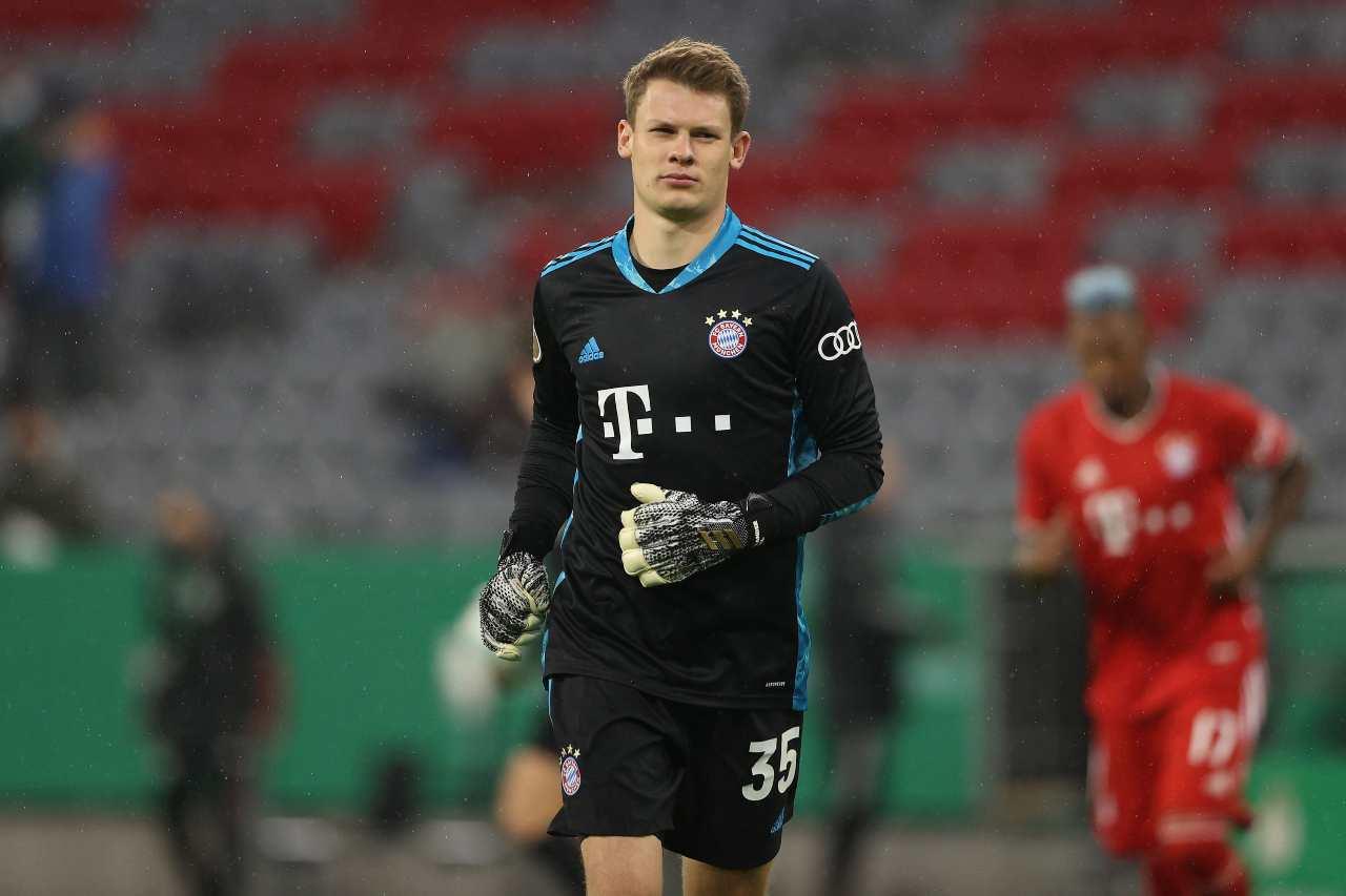 Alexander Nubel Bayern Monaco (foto Getty)