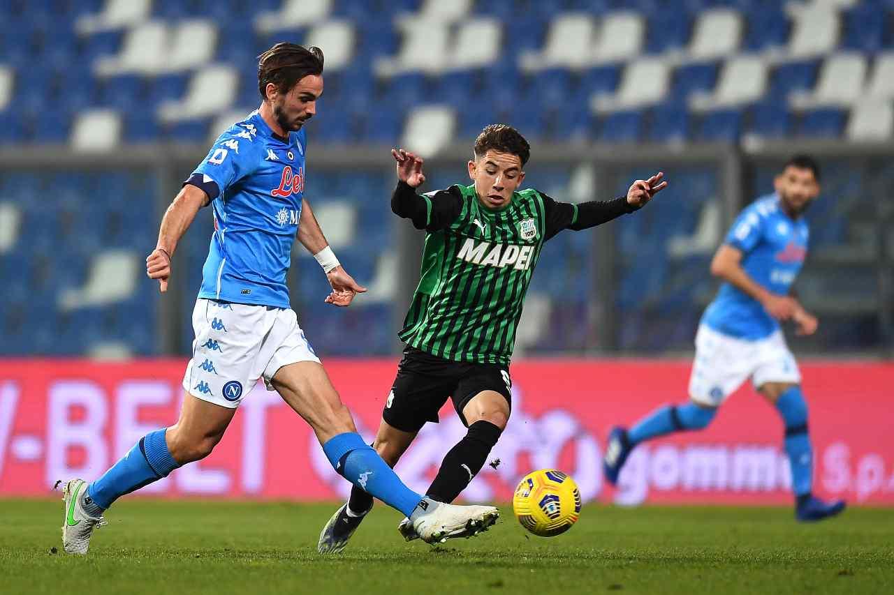 Serie A, highlights Sassuolo-Napoli: il video