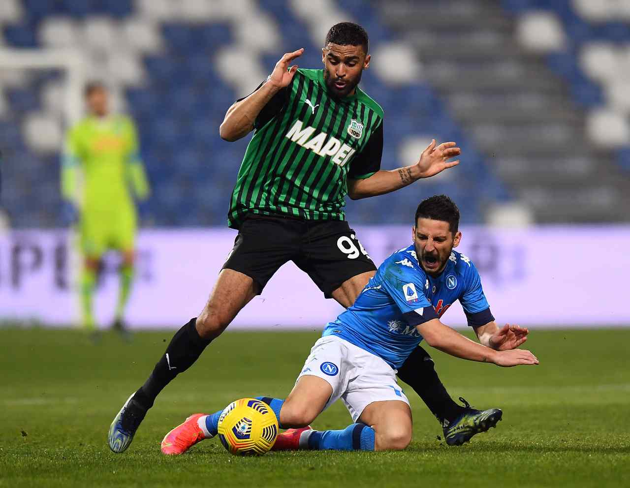 Serie A, highlights Sassuolo-Napoli: gol e sintesi partita - Video