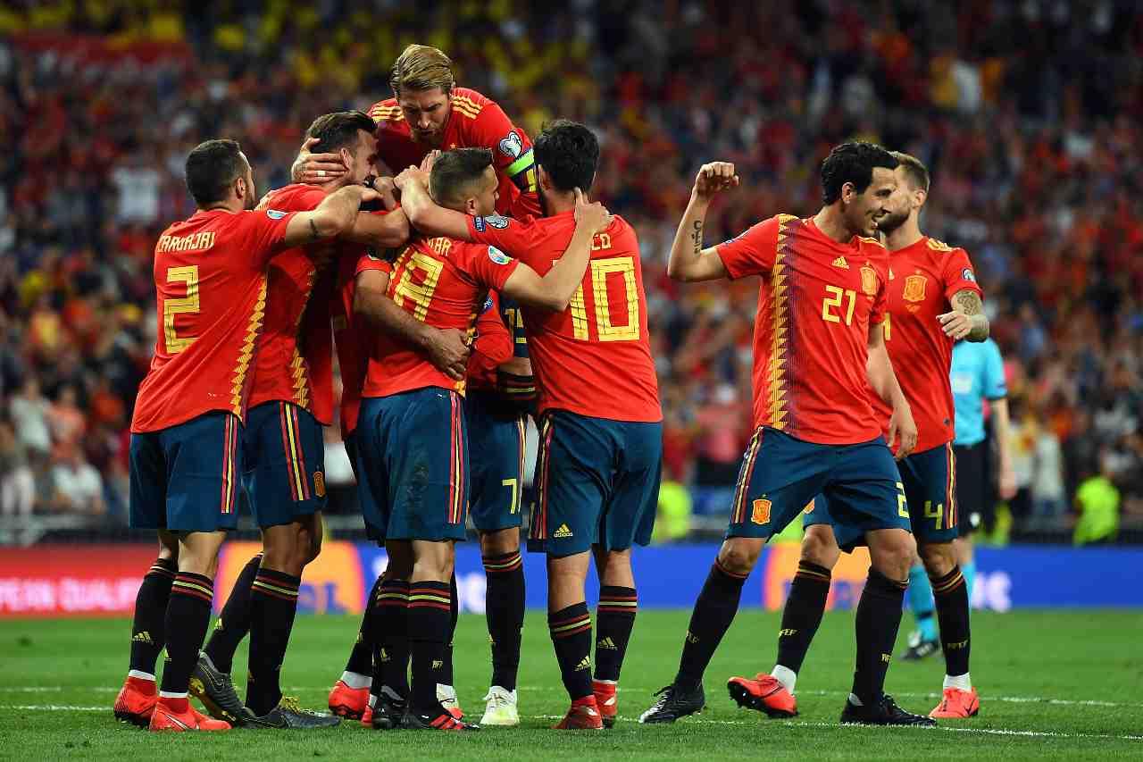 Spagna Kosovo formazioni
