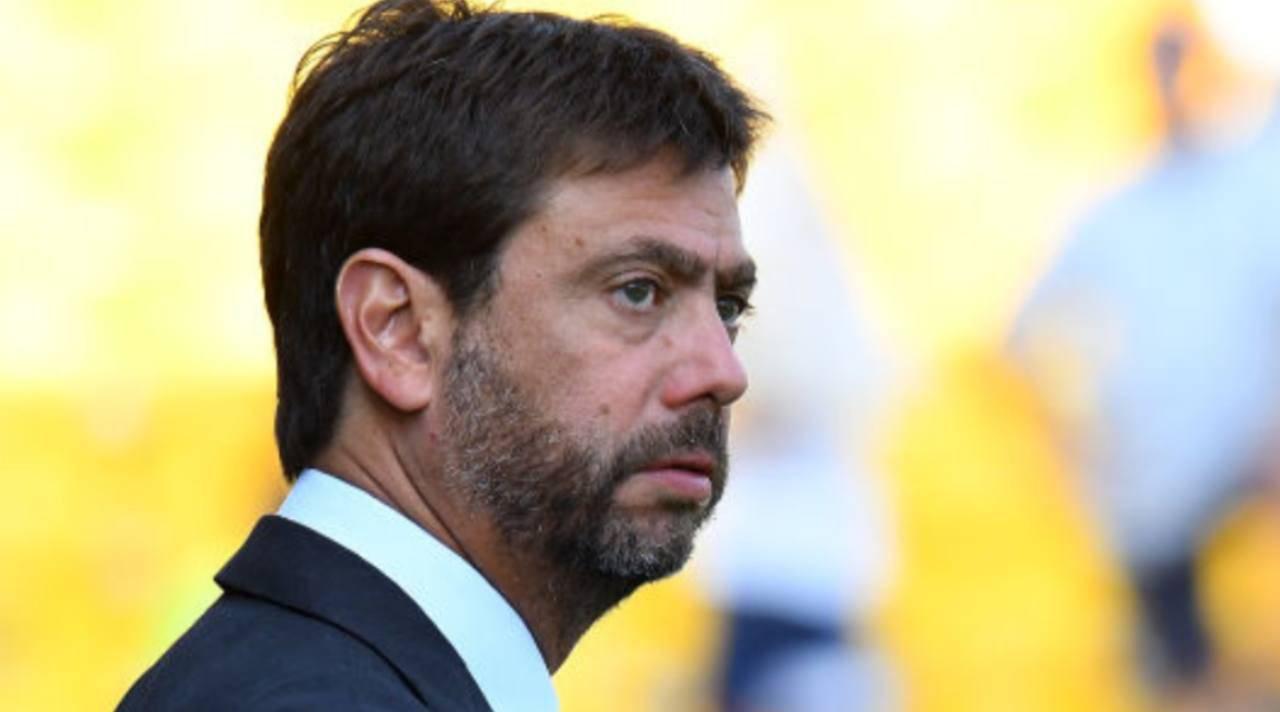 Agnelli Ceferin Juventus Superlega