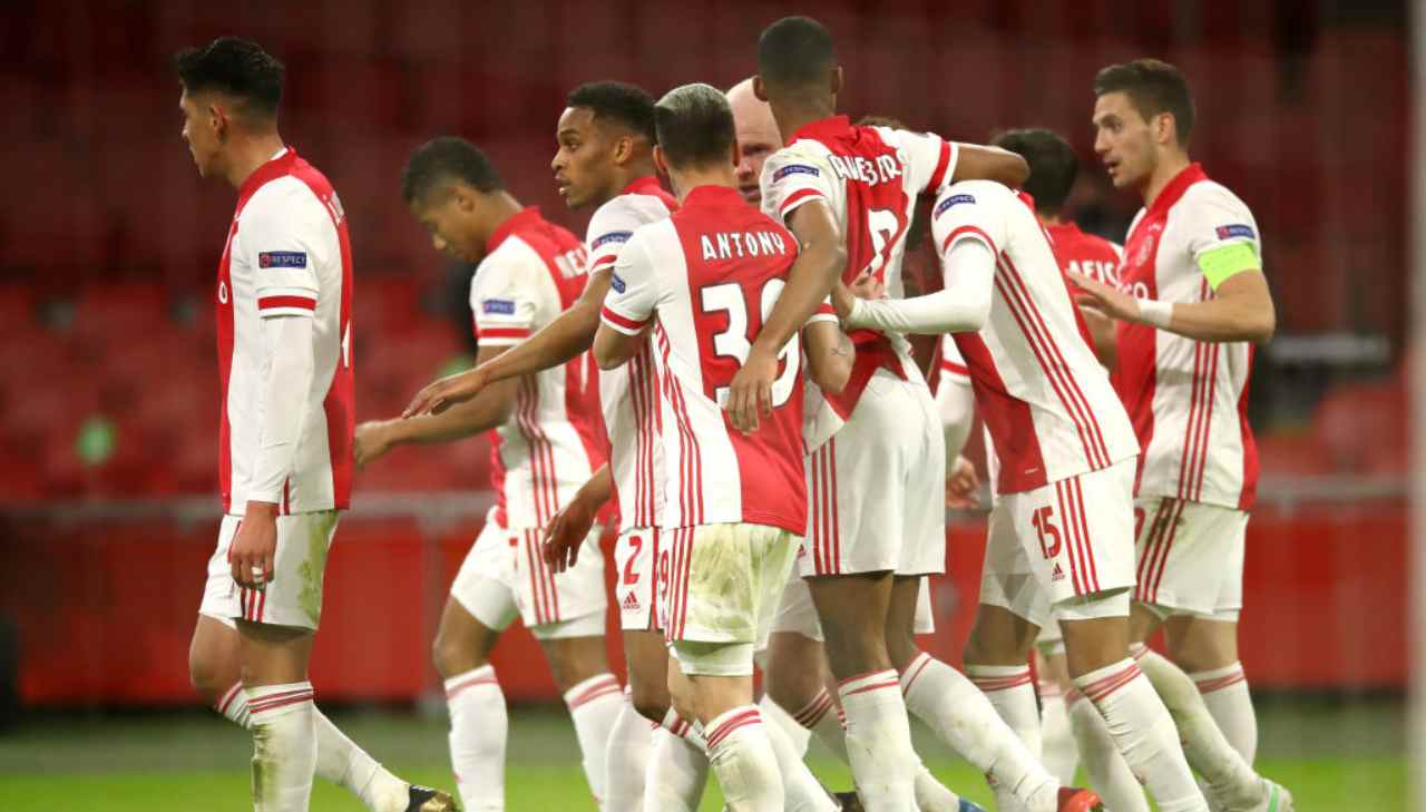 Ajax Utrecht Formazioni