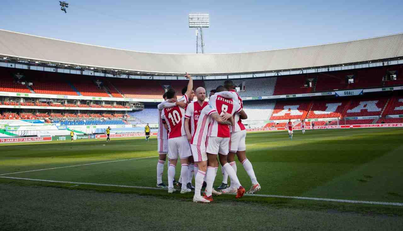 Ajax AZ Alkmaar formazioni