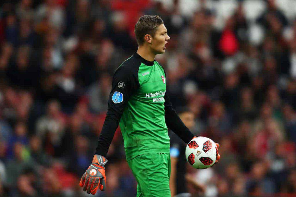 Ajax Roma Kjell Scherpen sostituisce Stekelenburg (Getty Images)