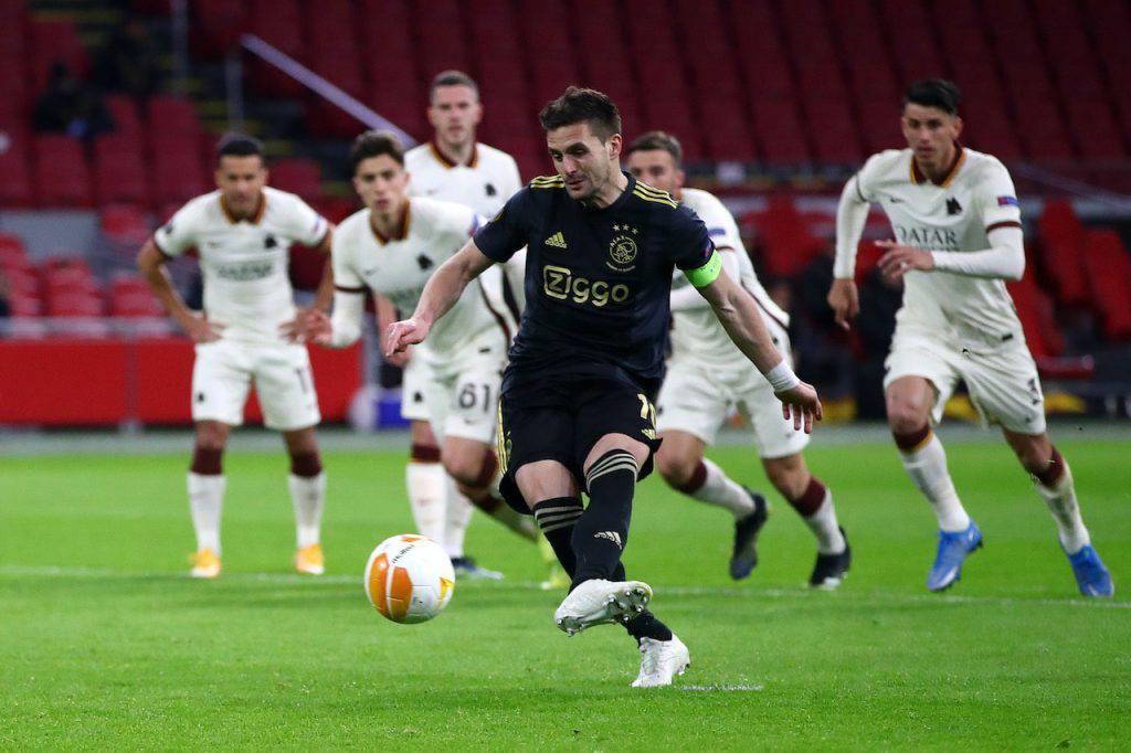 Ajax Roma Tadic esaltato dalle statistiche (Getty Images)