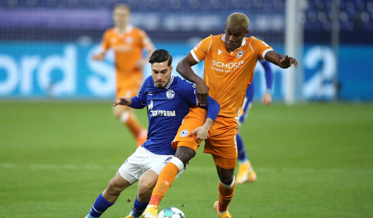 Arminia Bielefeld Schalke formazioni