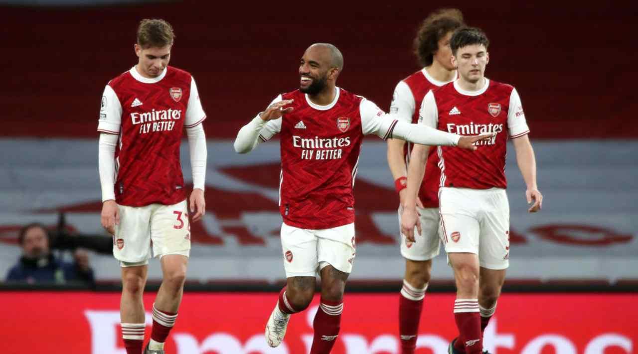 Arsenal Slavia Praga formazioni
