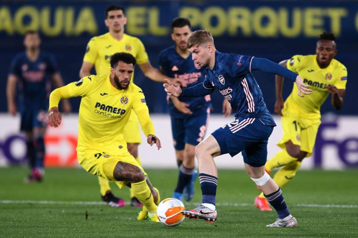 Arsenal Villareal formazioni