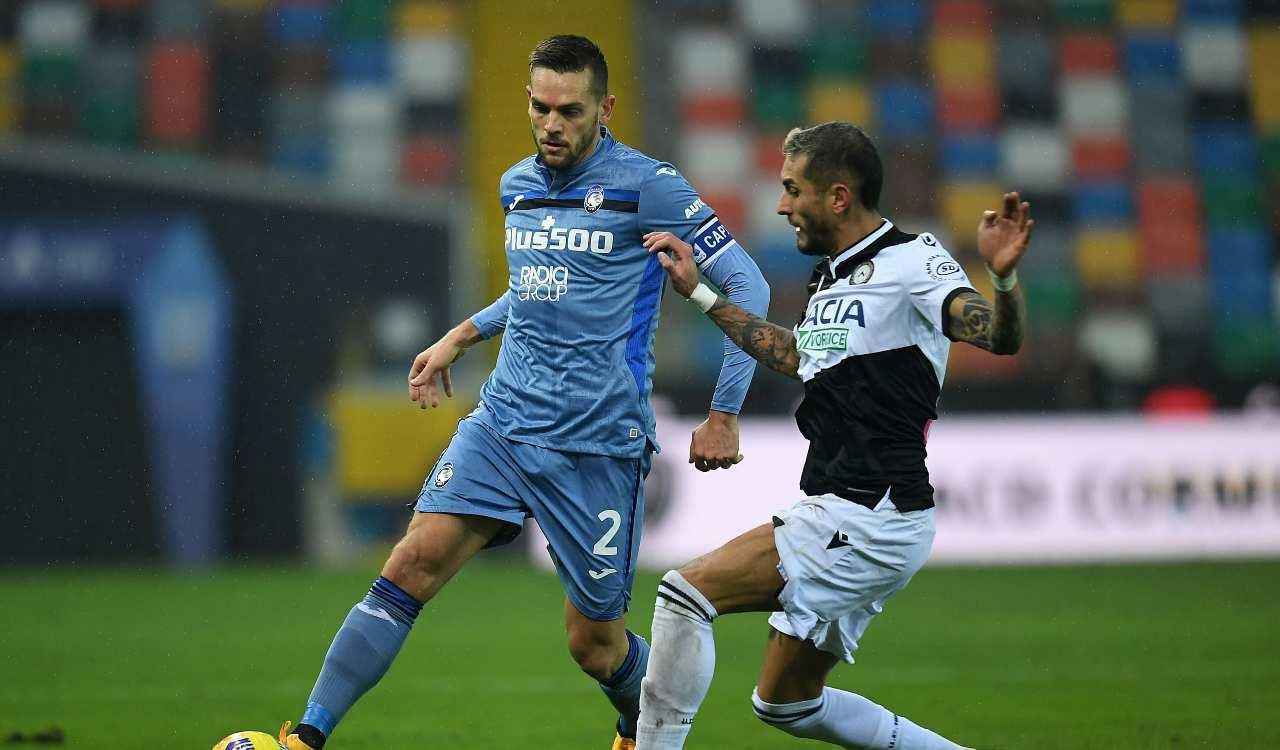 Atalanta Udinese formazioni