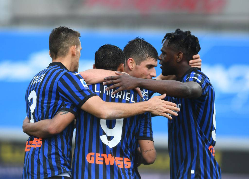 Atalanta Juventus formazioni