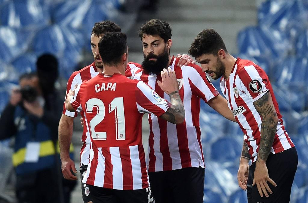 Atletico Bilbao Barcellona formazioni