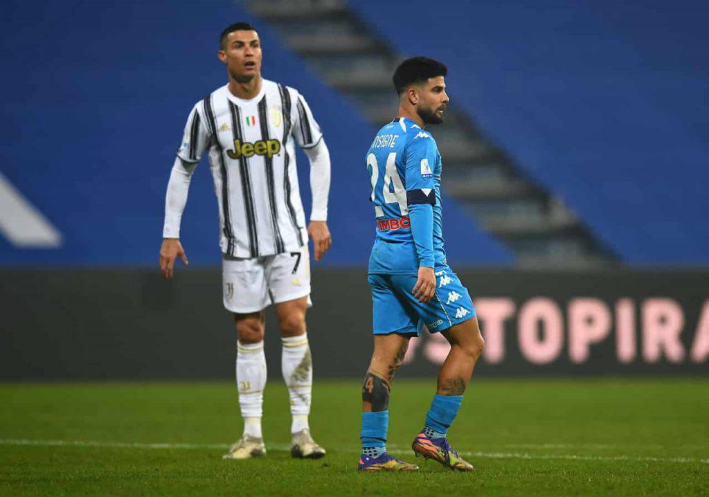 Attacco al pullman dei partenopei prima di Juve Napoli (Getty Images)