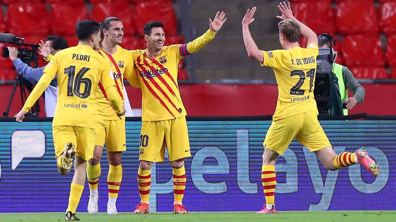 Barcellona Messi Griezmann