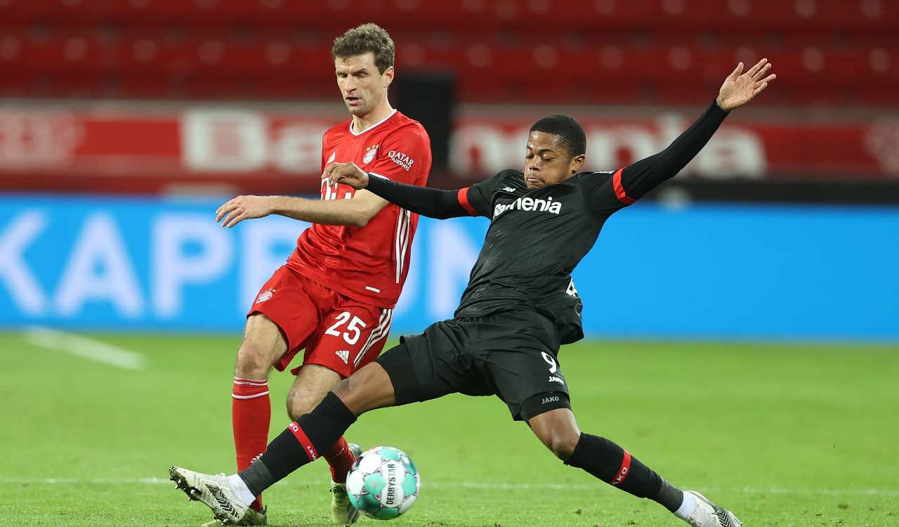 Bayern Monaco Leverkusen formazioni