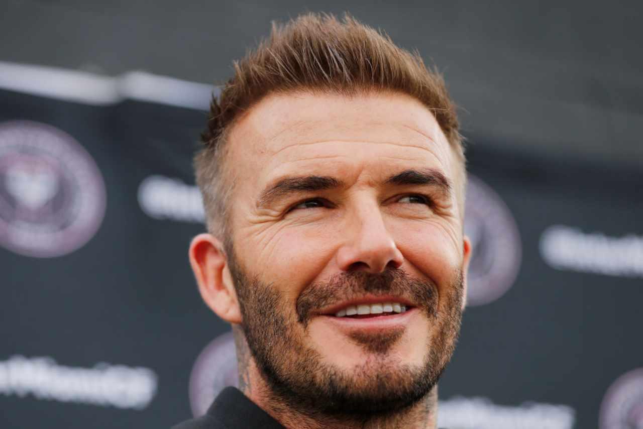 Beckham Lukaku Maserati