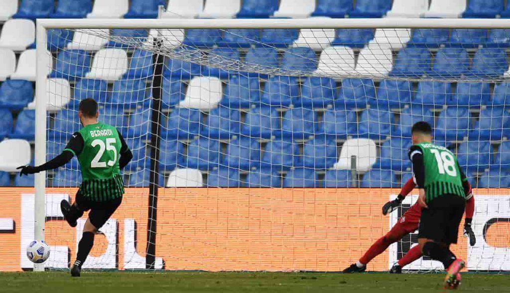 Berardi doppietta da incorniciare, 101 gol con il Sassuolo (Getty Images)