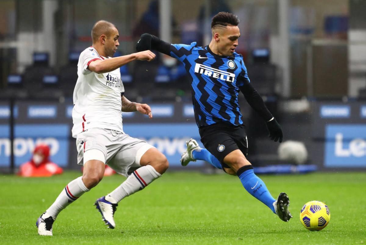 Bologna-Inter precedenti