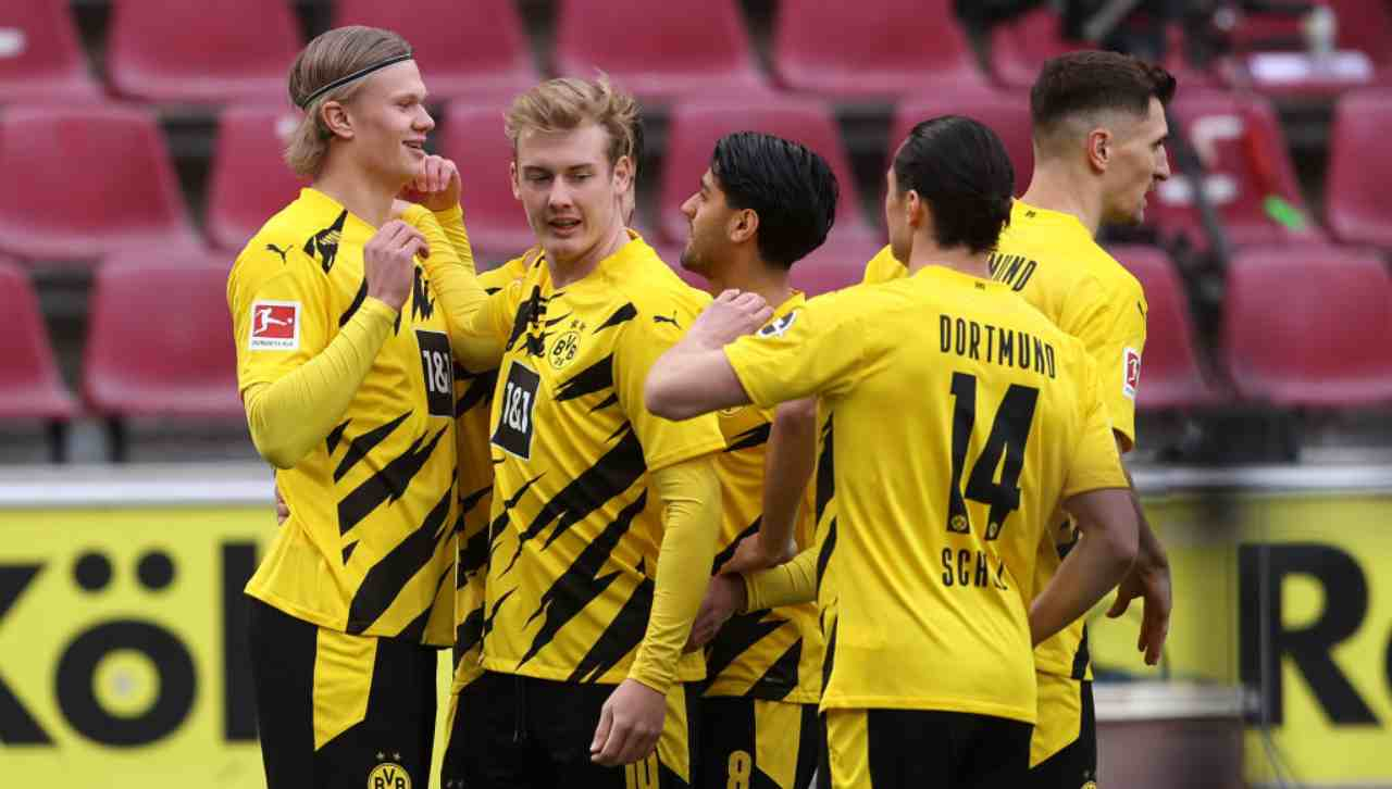 Borussia Dortmund-Manchester City streaming