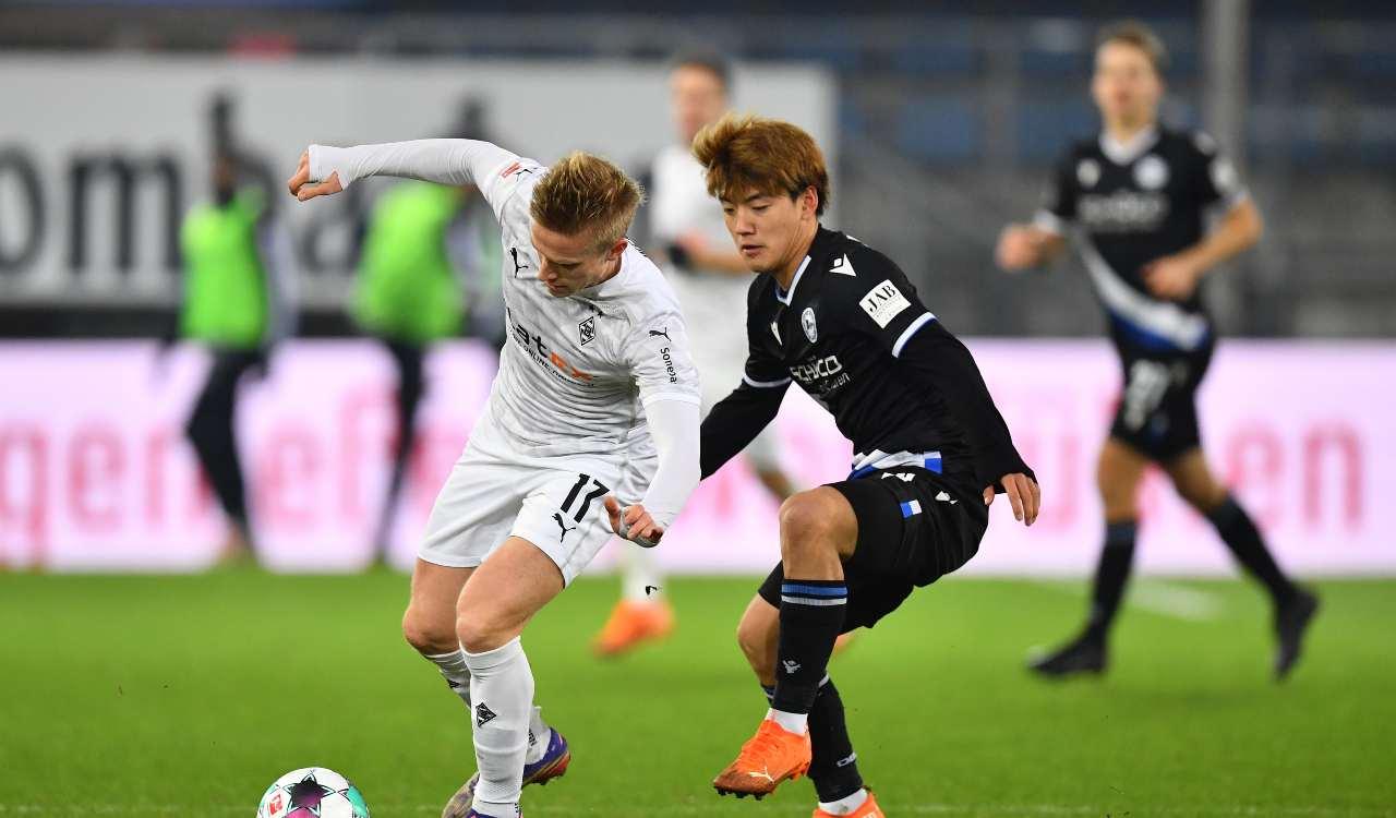 Borussia Mönchengladbach Bielefeld formazioni