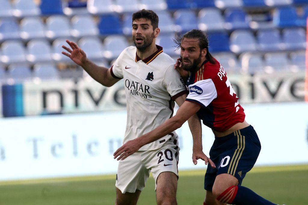 Cagliari Roma highlights