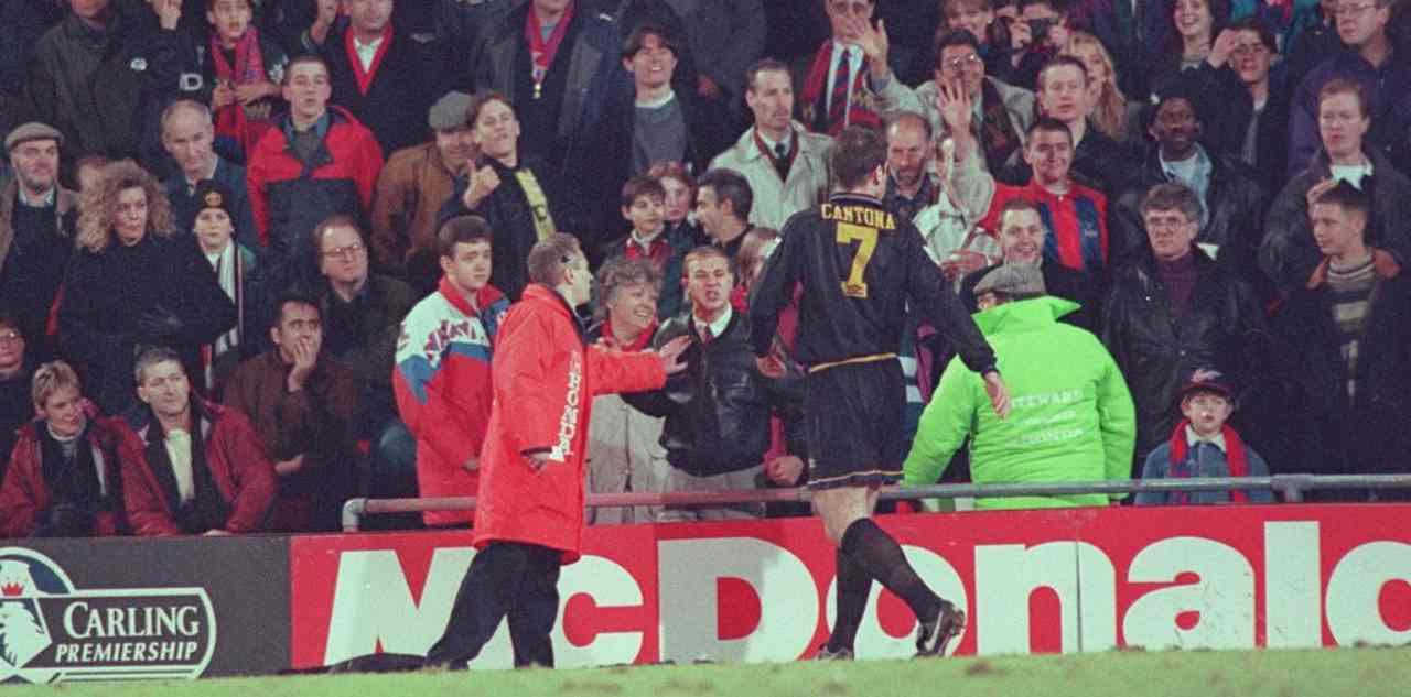 Eric Cantona calcio tifoso