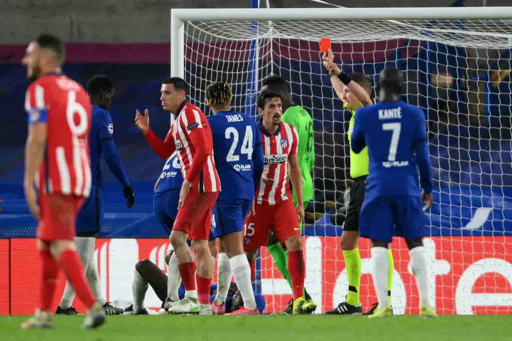 Chelsea Atletico Madrid Savic squalificato (Getty Images)