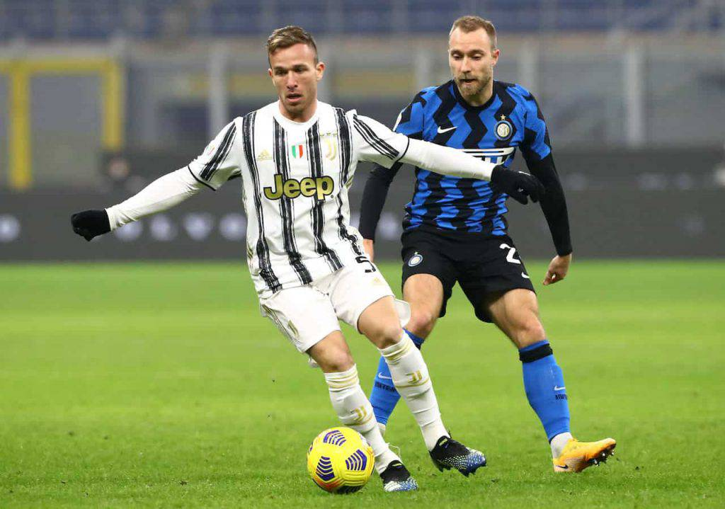 Come riprendersi la Juve, Dybala guarda Eriksen (Getty Images)