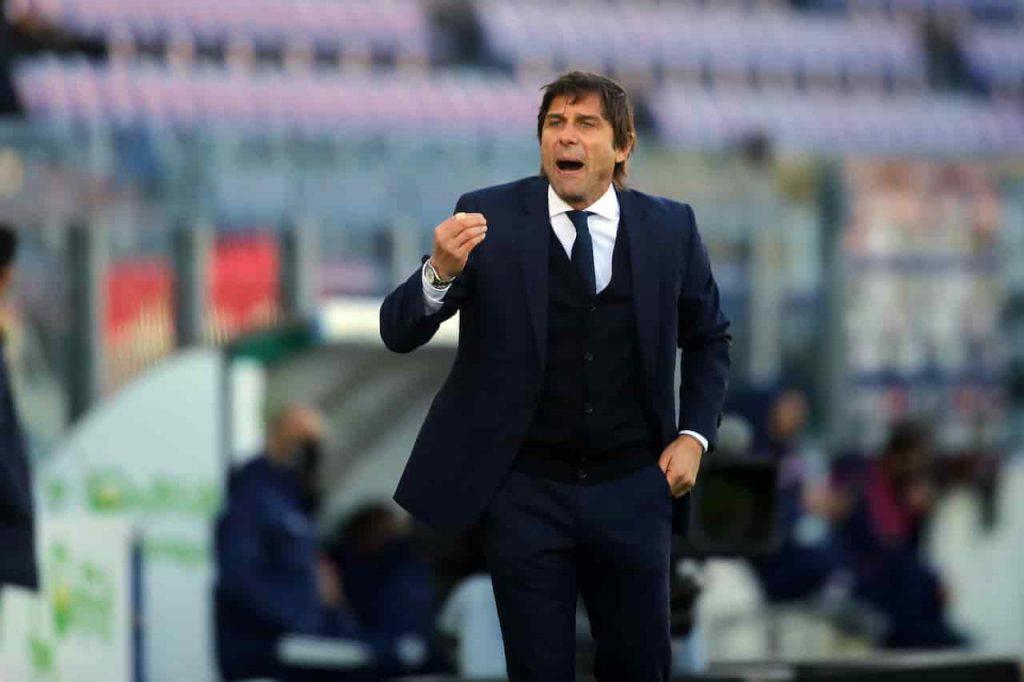 Conte galvanizzato dopo Inter Cagliari (Getty Images)