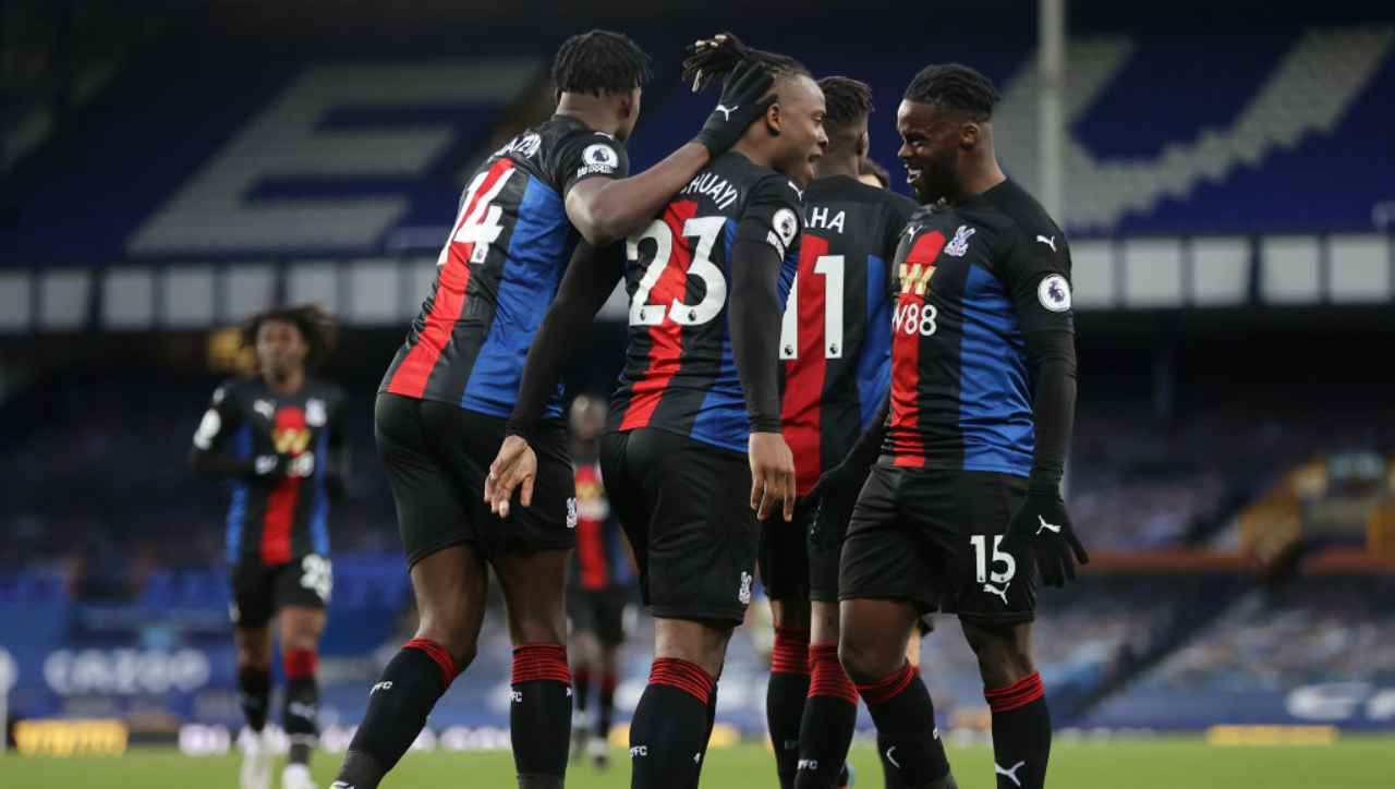 Leicester Crystal Palace formazioni