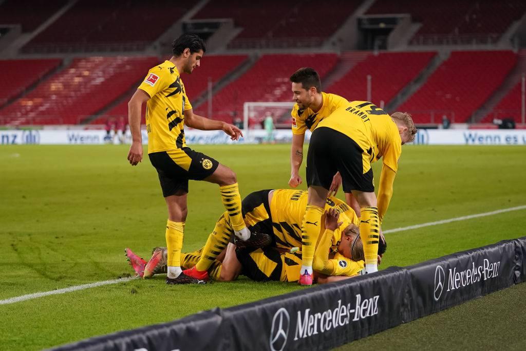 Dortmund Werder Brema formazioni