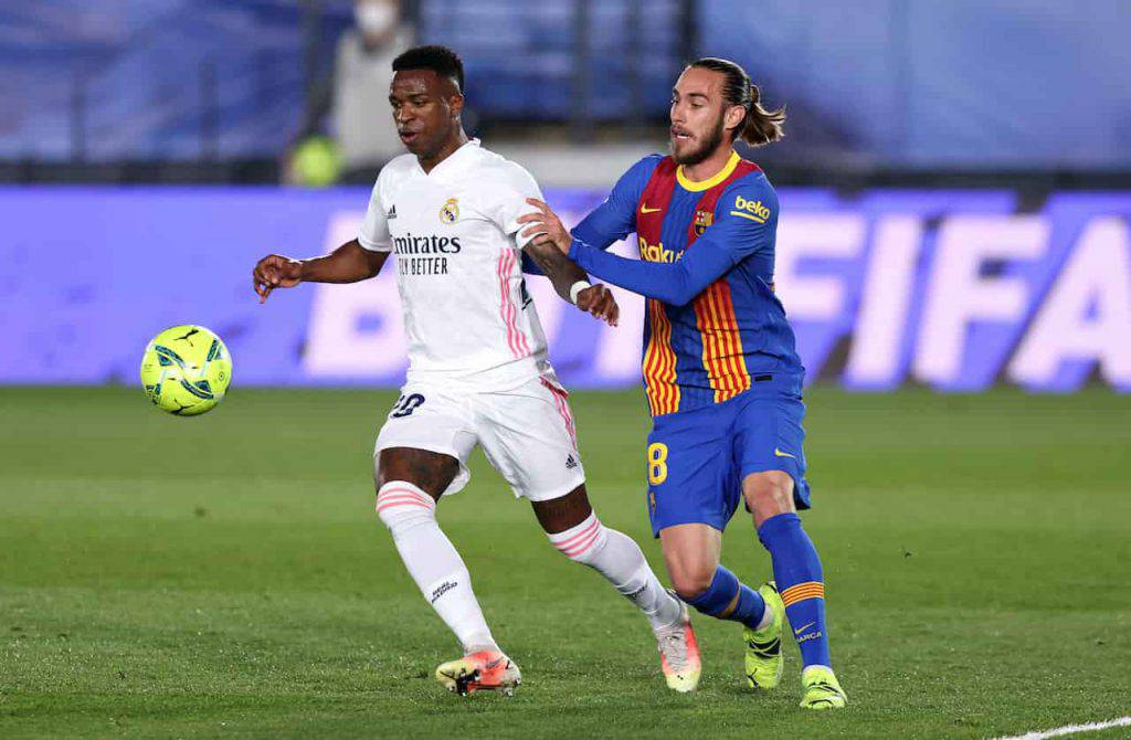 El Clasico Real-Barcellona social (Getty Images)