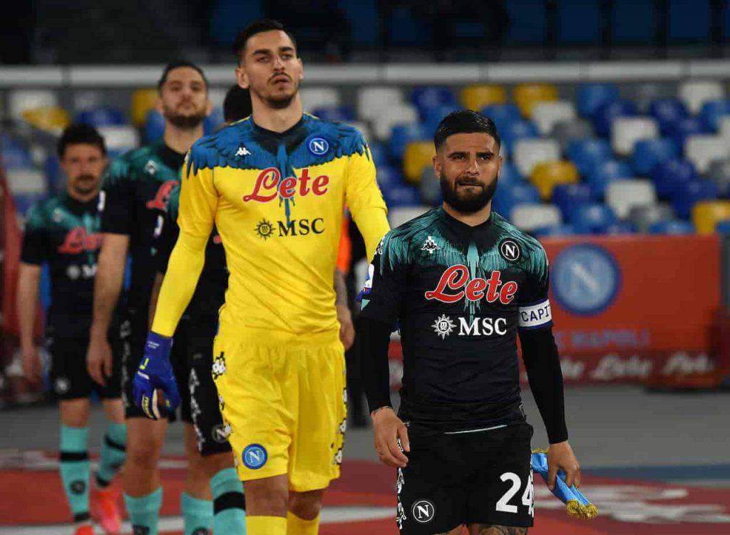 La nuova maglia del Napoli accende il dibattito sui social (Getty Images)
