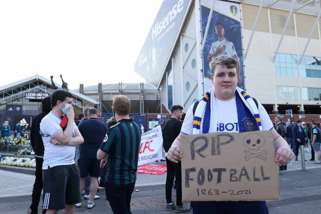 Leeds Liverpool proteste tifosi (Getty Images)