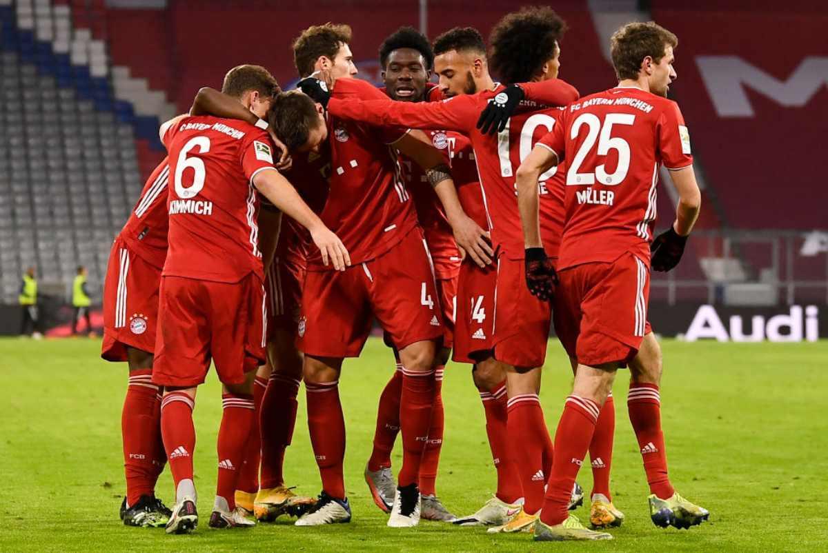 Mainz Bayern Monaco Formazioni