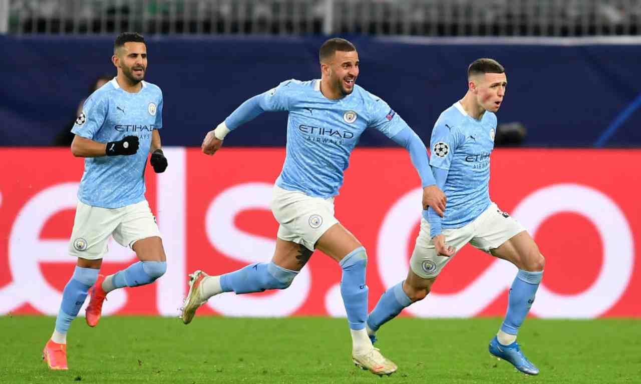 PSG Manchester City formazioni