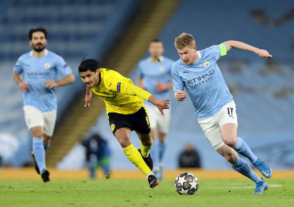 Manchester City-Borussia sintesi (Getty Images)
