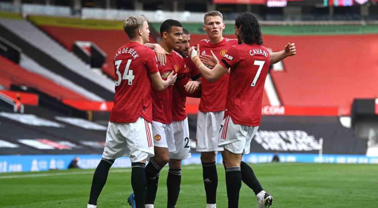 Manchester United Roma formazioni