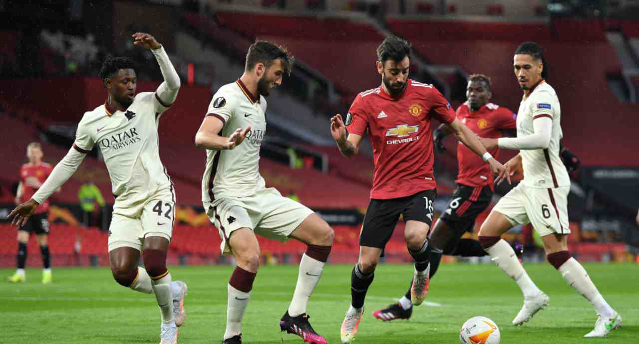 Manchester United-Roma