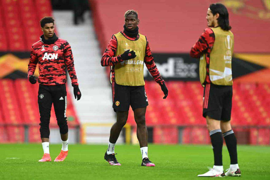 Manchester United Roma Cavani Dzeko sfida (Getty Images)
