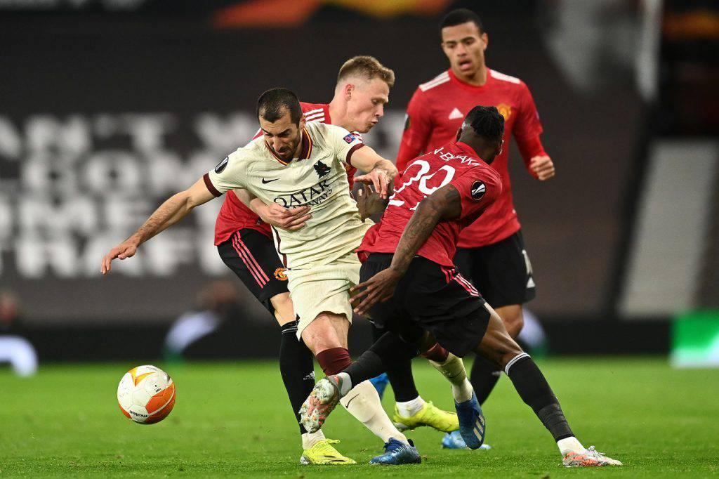 Manchester United Roma Fonseca