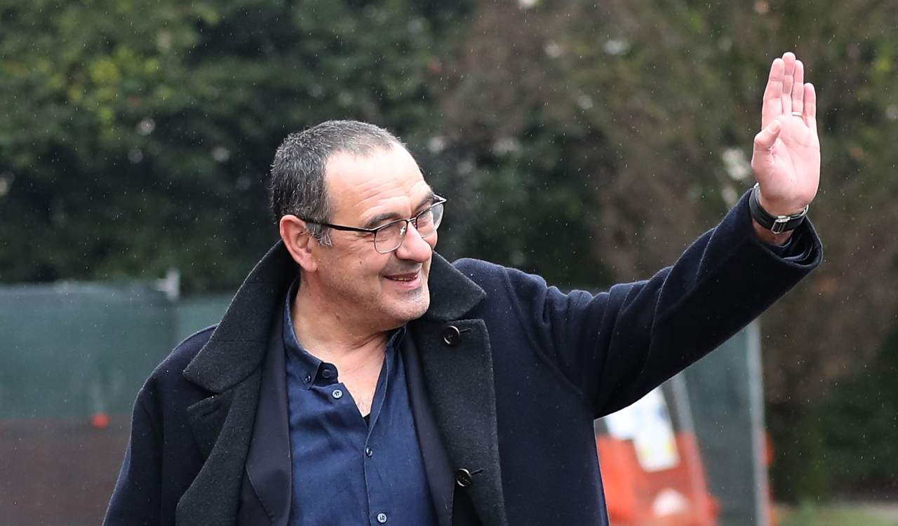 Maurizio Sarri Roma Milik