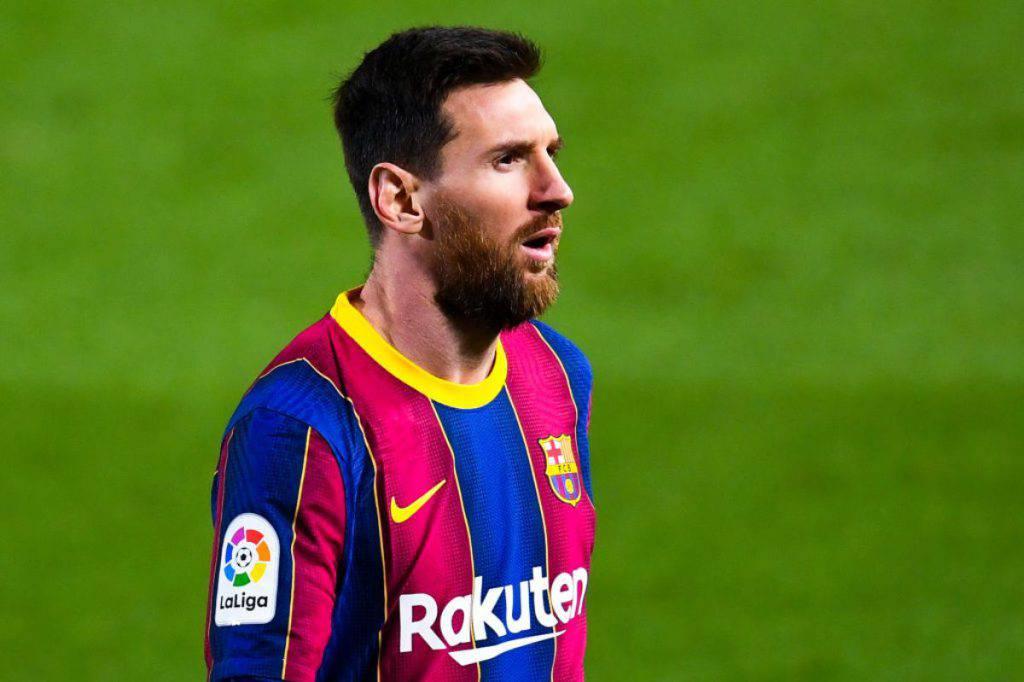 Tifosi Barcellona contrariati per Messi (Getty Images)
