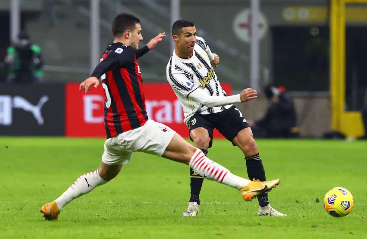 Juventus-Milan precedenti