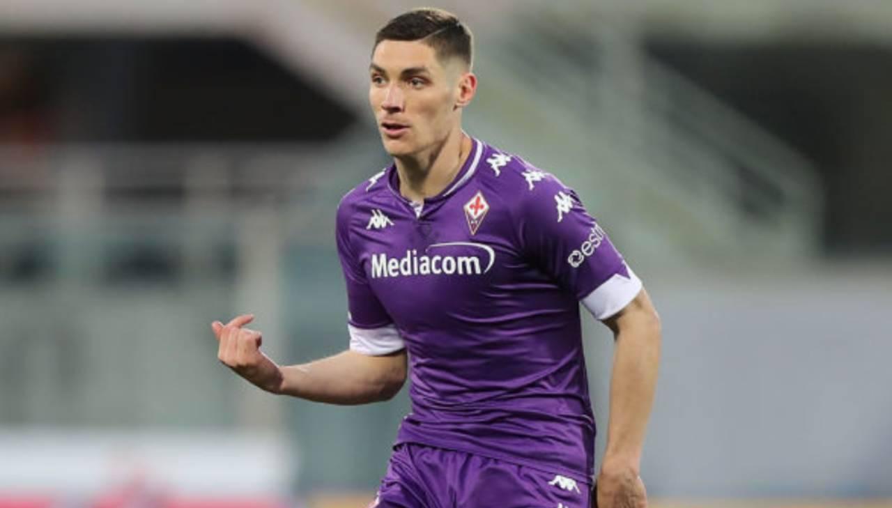 Nikola Milenkovic Verona Fiorentina