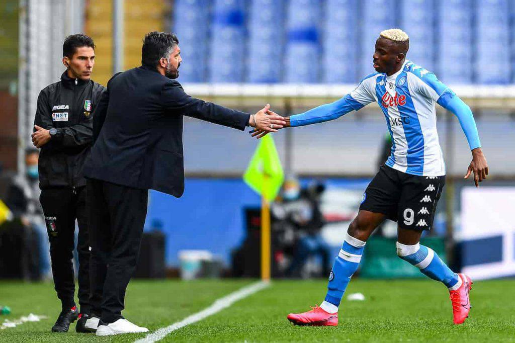 Napoli Man City, attacco da record (Getty Images)