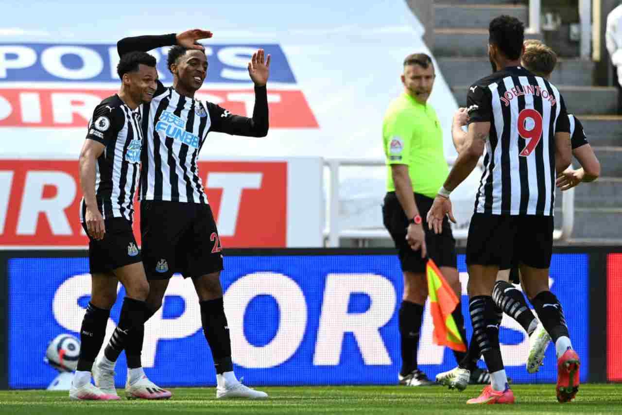 Liverpool Newcastle formazioni
