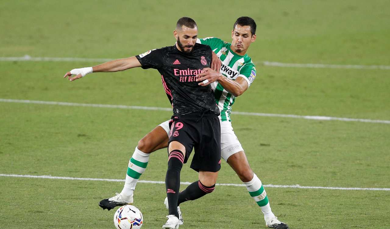 Real Madrid Real Betis formazioni