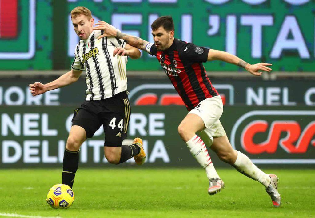 Romagnoli Bernardeschi possibile scambio Milan Juventus (Getty Images)